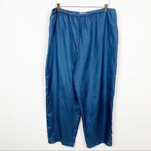 Kathie Lee Collection   Vintage Silk Flowy Pants